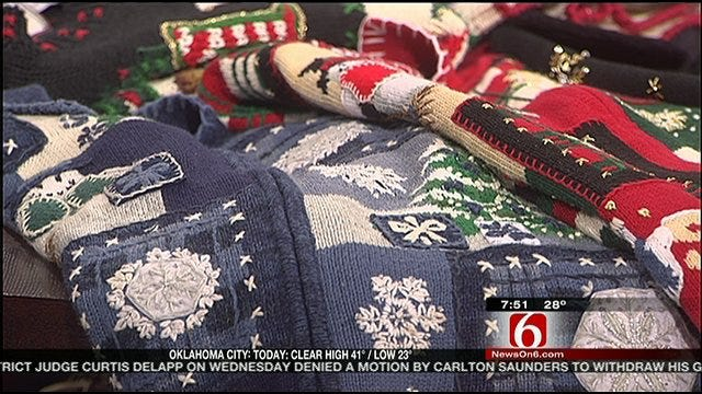Six in the Morning's LeAnne Taylor Shows Off Christmas Sweater Collection