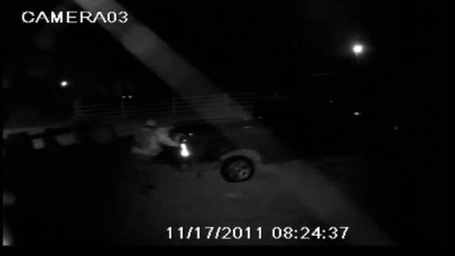 WEB EXTRA: Surveillance Video From Stone Bluff Fire Department