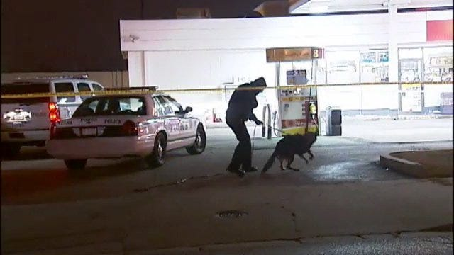 WEB EXTRA: Video From Scene Of Fatal Convenience Store Shooting In Tulsa