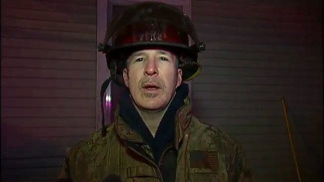 WEB EXTRA: Tulsa Fire Captain Brian Lloyd Talks About House Fire