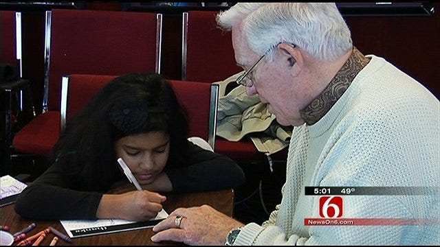 Kids Write Thank You Letters To Oklahoma's 45th Infantry