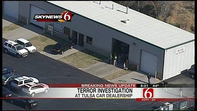 Federal Agents Raid Tulsa Car Dealership In Terrorism Investigation