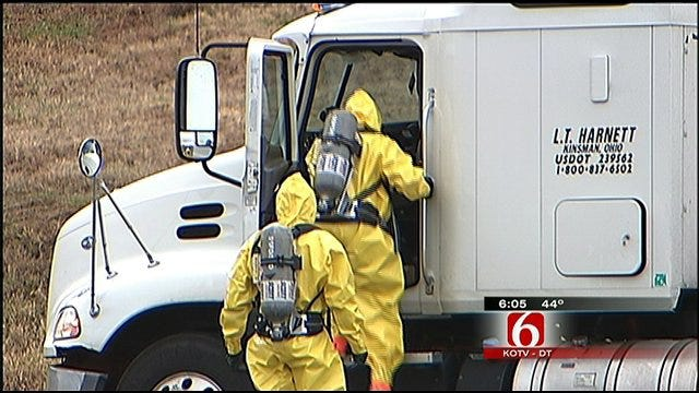 Green Country Agencies Credit Training In Chemical Spill Response