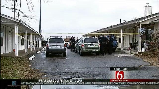 Search For Tulsa Homicide Suspect Continues