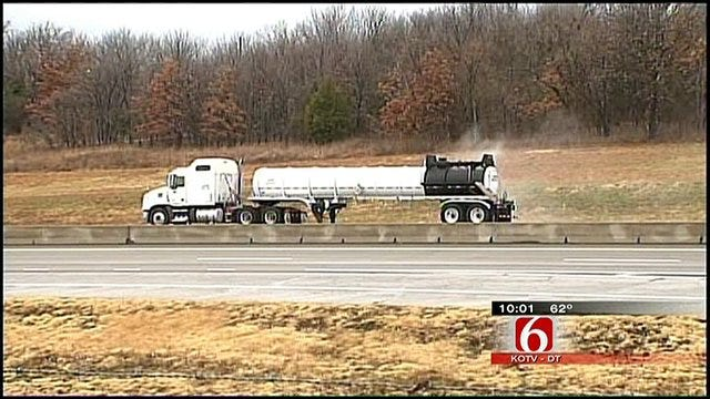 Turner Turnpike Reopened, Evacuees Return Home After Chemical Spill