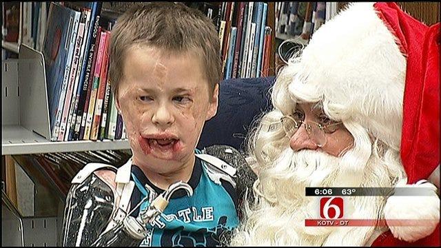 Tulsa Meningitis Survivor Reaches Another Milestone