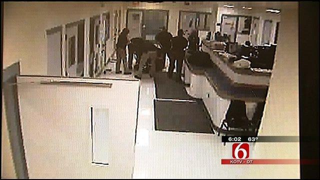 Booking Video Released In Lawsuit Against Cherokee County Jail
