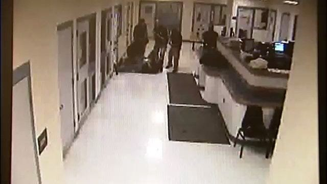 WEB EXTRA: Cherokee County Jail Booking Video Released