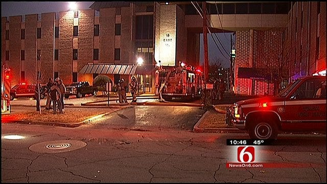 Fire Crews Investigate Suspicious Fire At Tulsa Building