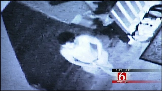 Tulsa Homeowners Have Close Encounter With Burglary Suspect