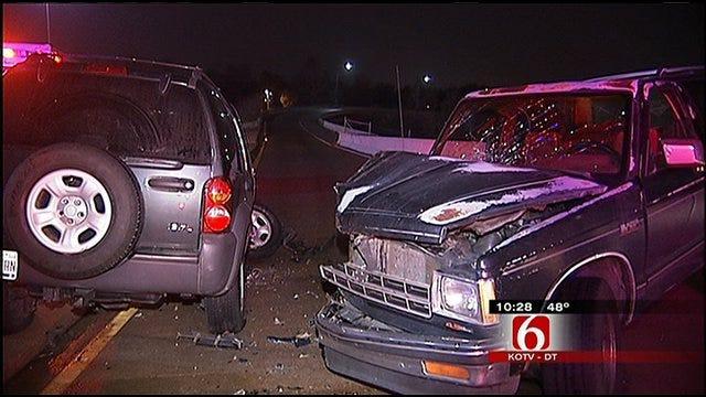 Reality TV Crews Capture Tulsa Driver's Arrest After DUI Crash