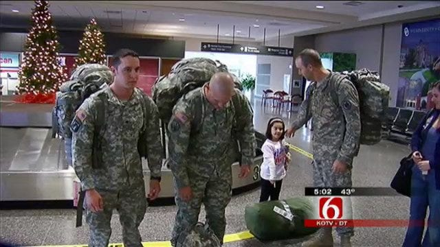 Tulsa Police Officer Home From Iraq For Good