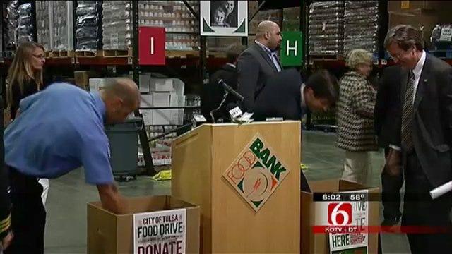 City Of Tulsa Food Drive To Benefit Food Bank