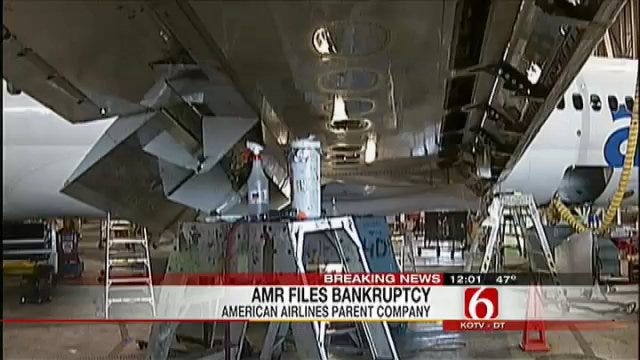 Transport Workers Union Local Reacts To AMR Bankruptcy News