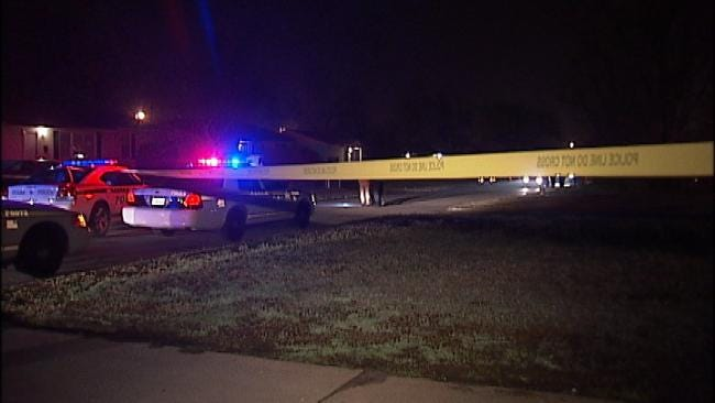 WEB EXTRA: Video From Scene Of North Tulsa Homicide