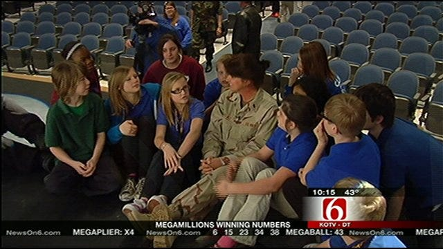 Tulsa Students Meet Their Virtual Pen Pal In Person