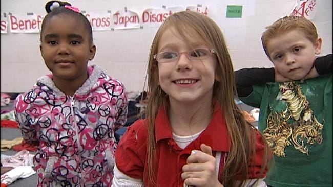 WEB EXTRA: Discovery School Students Talk About Japan Fundraiser