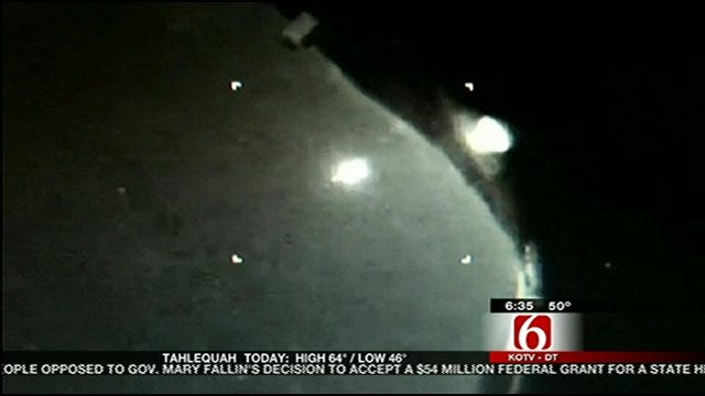 Interview With Astronomer Who Captured Mysterious Lights In Oklahoma Sky