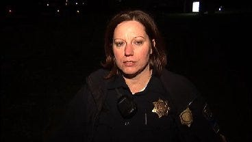 WEB EXTRA: Tulsa Police Sgt. Shelly Wood Talks About Chase/Burglary Arrest