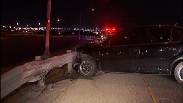 WEB EXTRA: Video From Scene Of I-244 Crash