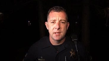 WEB EXTRA: Tulsa Police Sgt. Mike Parsons Talks About Arrest And Meth Lab