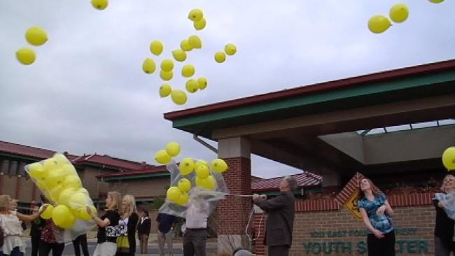 Balloon Release Kicks Off 'Safe Place' Week In Tulsa