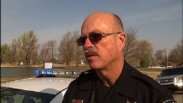 WEB EXTRA: Tulsa Police Sgt. Doug Brown Talks About Reported Gun On School Bus