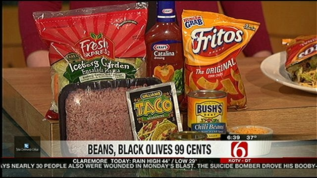 Money Saving Queen: Running Taco Salad