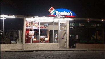 WEB EXTRA: Video From Scene Of Domino's Pizza Robbery