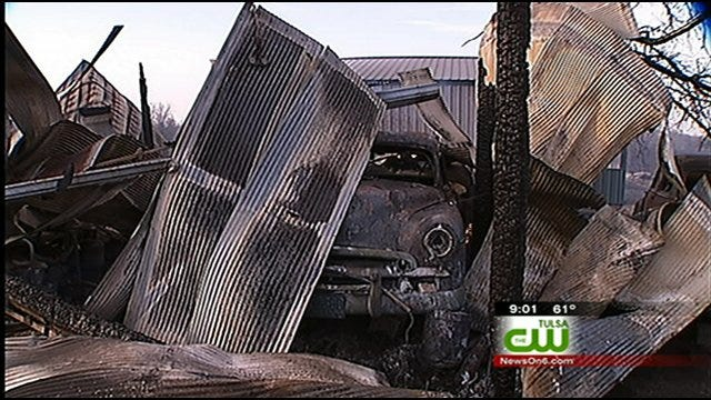 Beggs Resident Loses Car, Memories In Wildfire