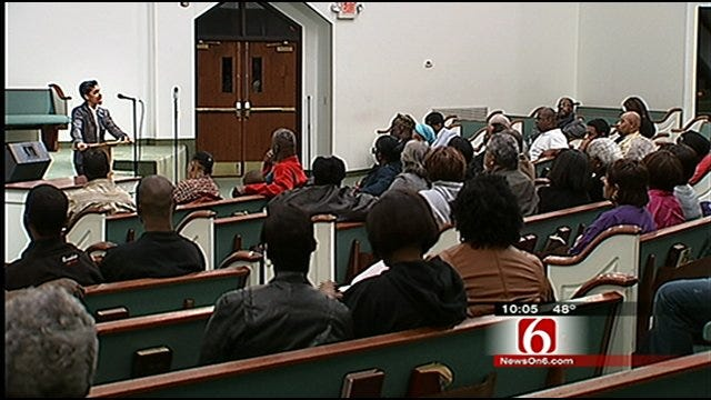 Dozens Protest Arrest Of Tulsa Principal