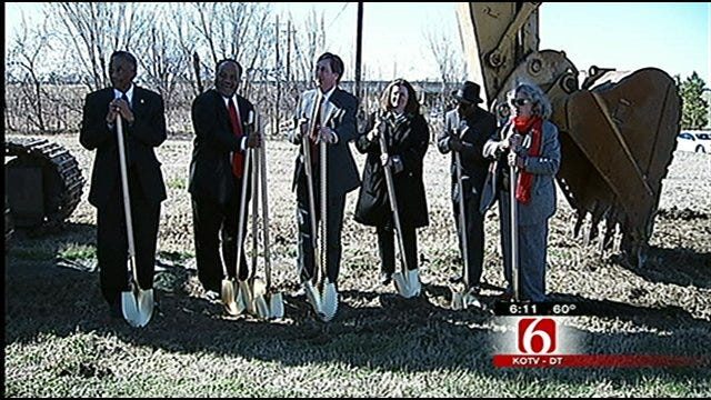 Ground Broken For Tulsa Soccer Complex