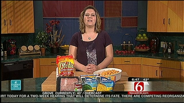 Money Saving Queen Combines Tater Tots With Peas For Great Meal Idea