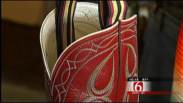 Oklahoma's Own: Beggs Man Custom Makes World-Famous Cowboy Boots