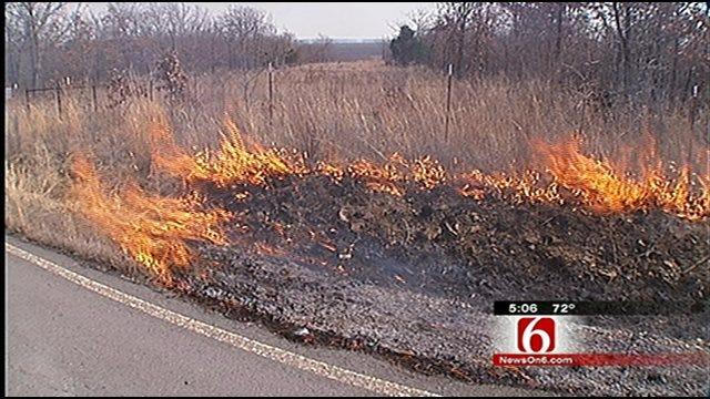Oklahoma Wildfires Spark Air Quality Concerns