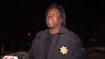 WEB EXTRA: Tulsa Police Officer Talks About Tuesday Night's Shooting