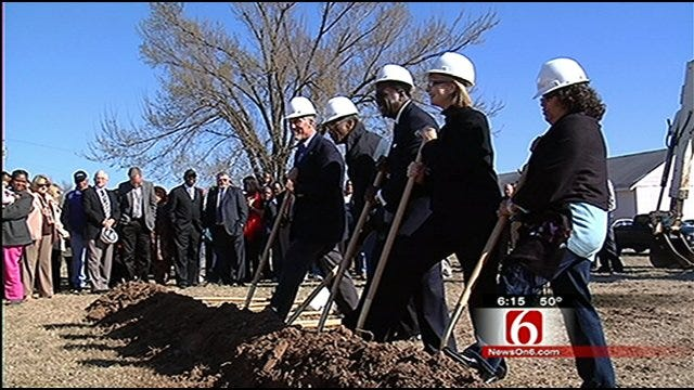 West Tulsa Community Center Project Breaks Ground