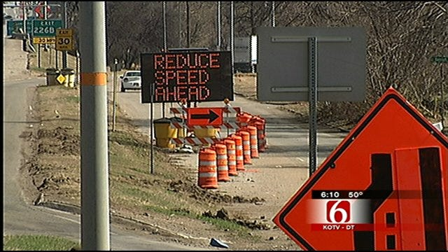 Work To Begin Tuesday On 3rd Phase Of I-44 Widening Project In Tulsa