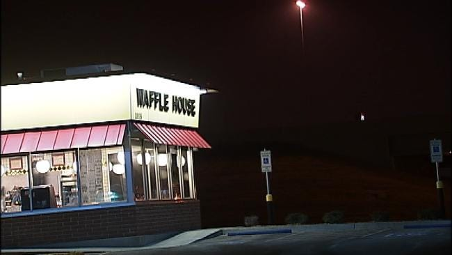 WEB EXTRA: Video From Scene Of Waffle House Robbery