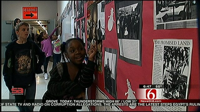 Students Discuss Black History Month