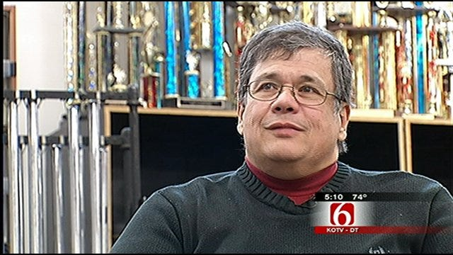 Oklahoma's Own: Verdigris Band Director Honored For Quarter-Century Of Service
