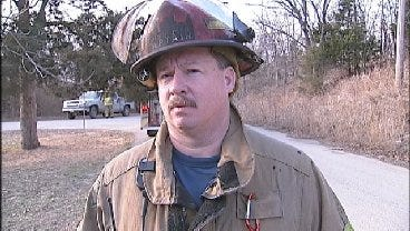 WEB EXTRA: Tulsa Fire Captain David Rice Talks About Meth Lab Discovery