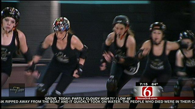 Roller Derby Time In Tulsa