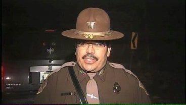 WEB EXTRA: OHP Trooper Derrick Eades Talks About North Tulsa Crash