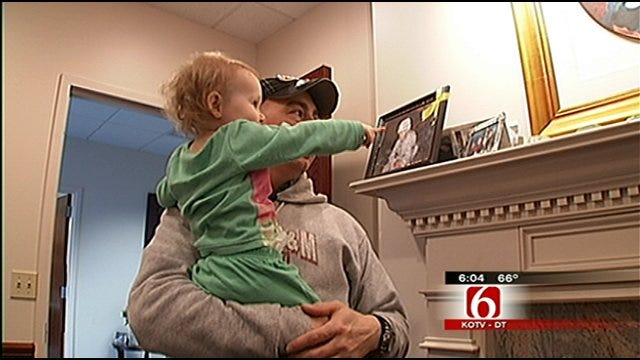 Green Country Family Prepares For Father's Deployment To Afghanistan