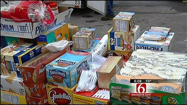 Tulsa Red Cross Resupplies After Winter Storm