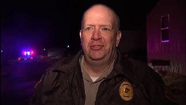 WEB EXTRA: Tulsa County Sheriff's Sgt. Craig Bivins Talks About Stabbing Incident