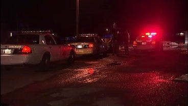 WEB EXTRA: Video From Scene Of Stabbing At Sand Springs Mobile Home Park