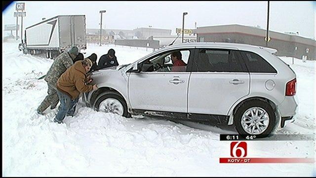 Tulsa Car Repair Shops Slammed After Blizzard