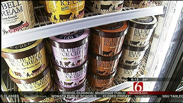 Ice Cream Sales Boom In Snowed-In Oklahoma